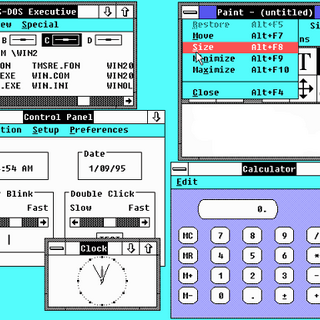 Windows 2.03 desktop.