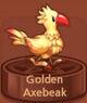 Golden Axebeak