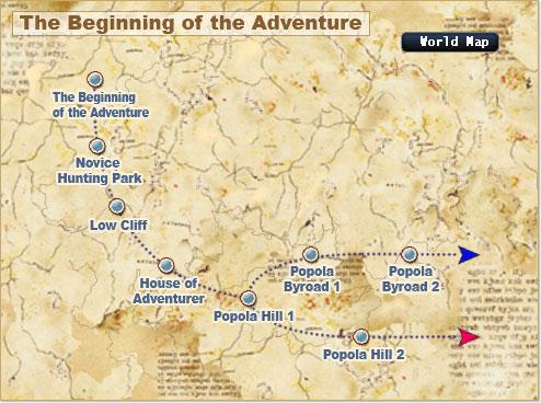 Map beginning