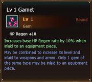 Garnet lvl1