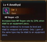 Amethyst lvl4
