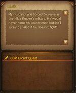 Escort Quest Cecilia Screen