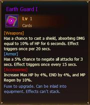 Cards EarthGuardI