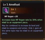 Amethyst lvl5