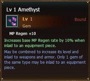 Amethyst lvl1