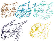 Wof dragonet sketches by mollish-daclm54