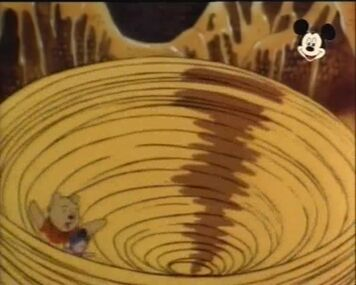 Pooh and piglet in a honey whirlpool by foxlover35-d8q2xn4