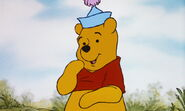 Winnie the Pooh is asking what will he do in Tigger's story
