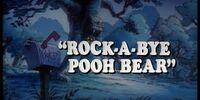 Rock-a-Bye Pooh Bear