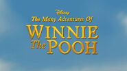 Disney The Many Adventures of Winnie the Pooh tc