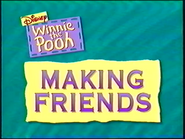 Making Friends title card