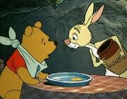 Pooh and Rabbit