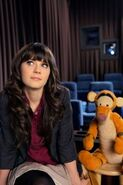 Zooey and Tigger
