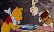 Winnie the Pooh got one single drop of honey