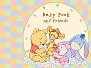 Pooh Wallpaper - Baby Pooh and His Friends