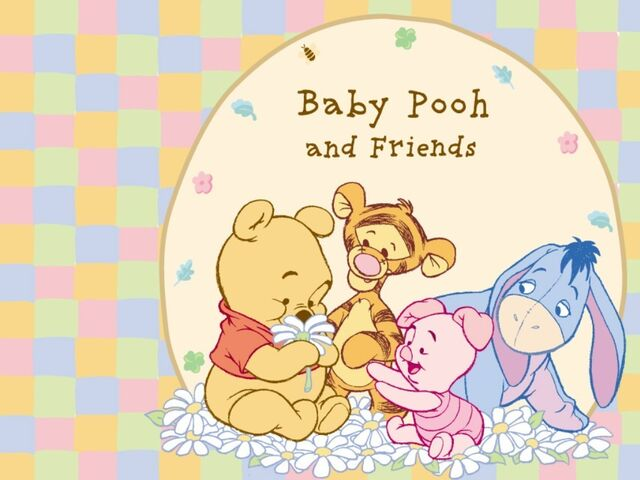 File:Pooh Wallpaper - Baby Pooh and His Friends.jpg