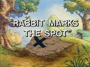Rabbit Marks the Spot