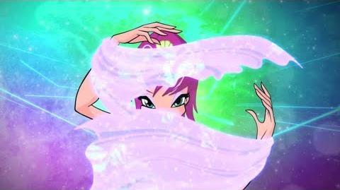 Winx Club Tecna Harmonix Full Transformation! HD!