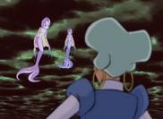 Water Nymphs alerting Faragonda