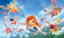 Winx club fly