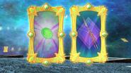 Fantasy emerald & silver sphere