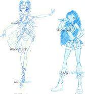 Aisha Enchantix - Concept Art