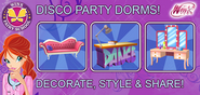 WFS - Disco Party Dorms