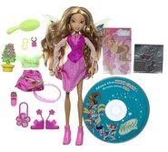 Mattel - Season 1 Flora Doll