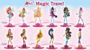 Winx Club Magic Travel - Look 1 and 2