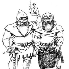Dwarves in <a href=