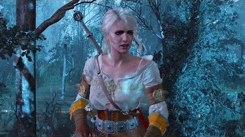 Ciri Escapes from Crones and Imlerith in Crookbag Bog (Witcher 3 - Ciri's Story Quest)