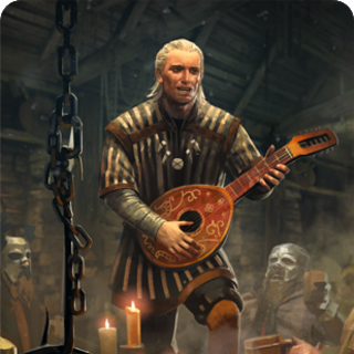 Gwent card art.