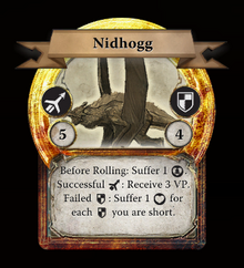 TWAG monster card Nidhogg