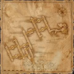 Map of Vizima'a Sewers
