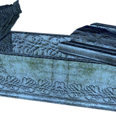 a witcher-sized sarcophagus