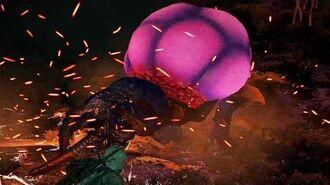 The Witcher 3 Harrisi the Arachnas Boss Fight (Hard Mode)