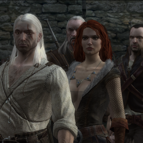 Witchers and Triss