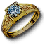Tw3 gold diamond ring