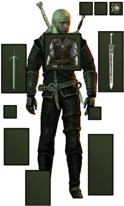 Raven's armor as fashioned by Kalkstein