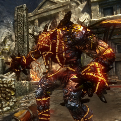 Fire elemental in <i>The Witcher 2: Assassins of Kings</i>