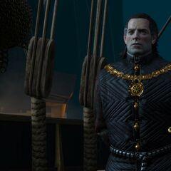 Emhyr var Emreis on board of his ship