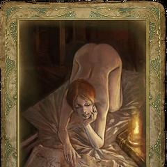 Перша романтична картка Шані.