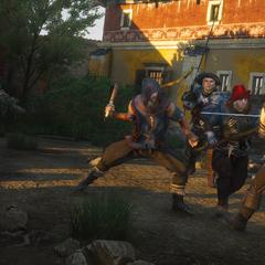 Geralt and bandits