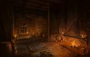 Loading House interior night