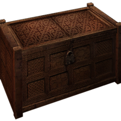 another crate, decorative