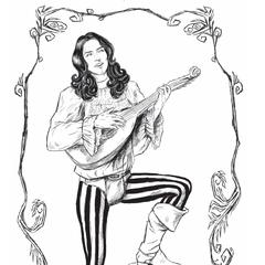Illustration in book by Jana Komárková
