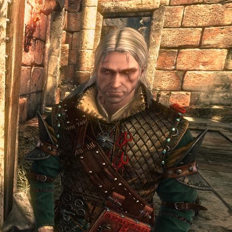 Geralt w Zbroi z Ys
