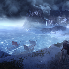Old promotional screenshot showing castle from distance.