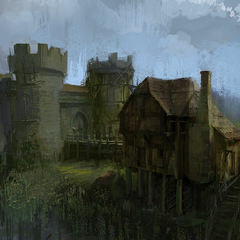 Dike concept painting