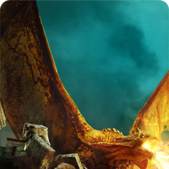 His dragon form on card in  <i>The Witcher 3 </i>.